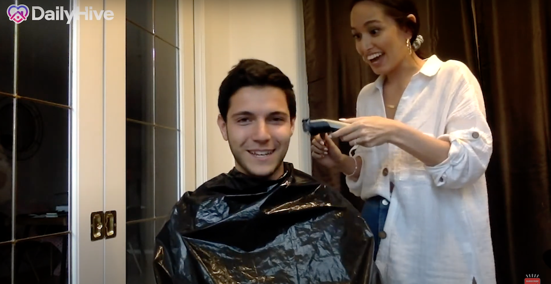 Here's how to properly give your man a haircut (VIDEO)