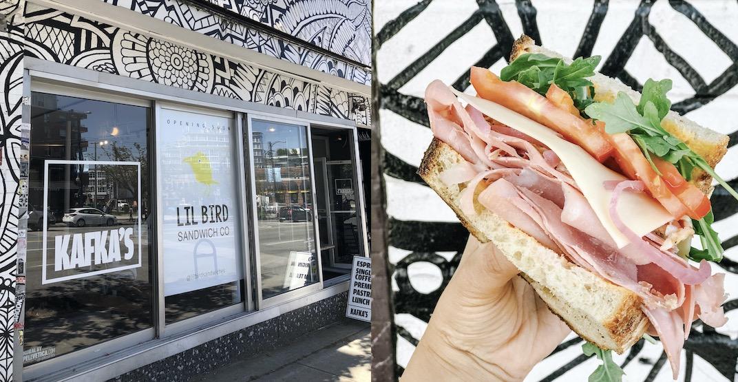 Lil Bird Sandwich Co. to open inside Kafka's Coffee on Main Street