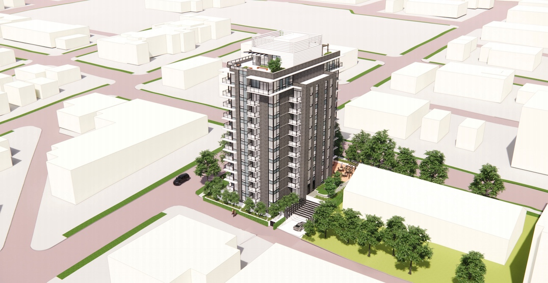 82 units of social housing proposed near future SkyTrain station in Mount Pleasant