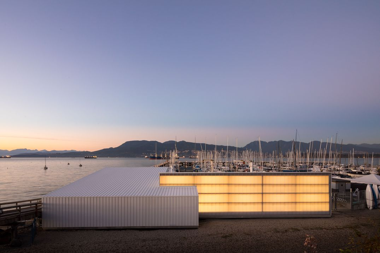 the dock building jericho beach
