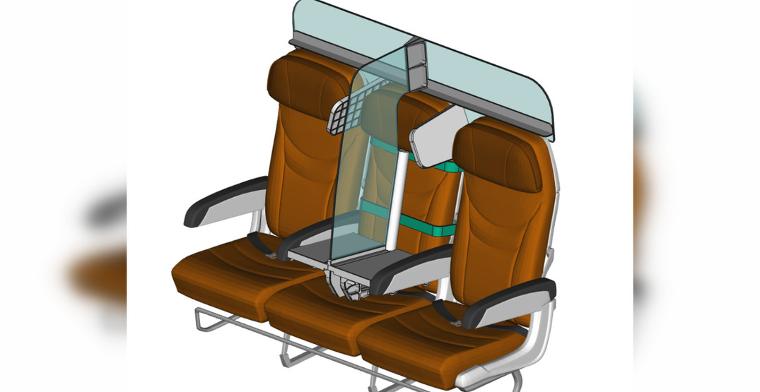 A new airplane seat could help you socially distance on board (PHOTOS)