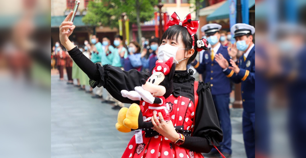 Check out these images of the Shanghai Disneyland reopening