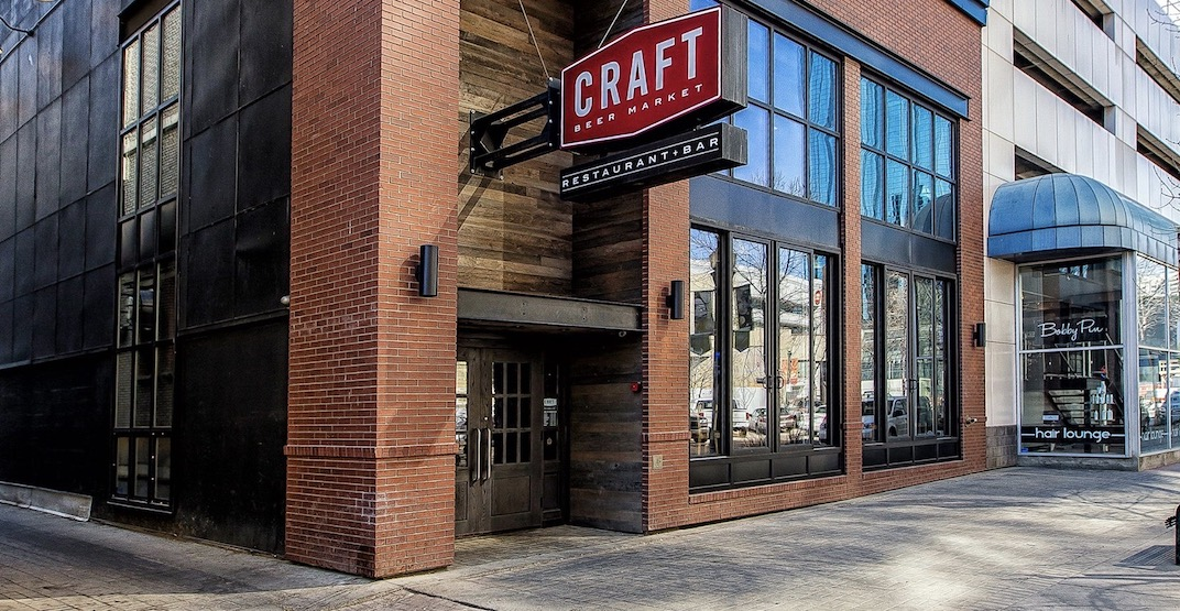 Craft Beer Market is reopening for dine-in service in Edmonton May 14