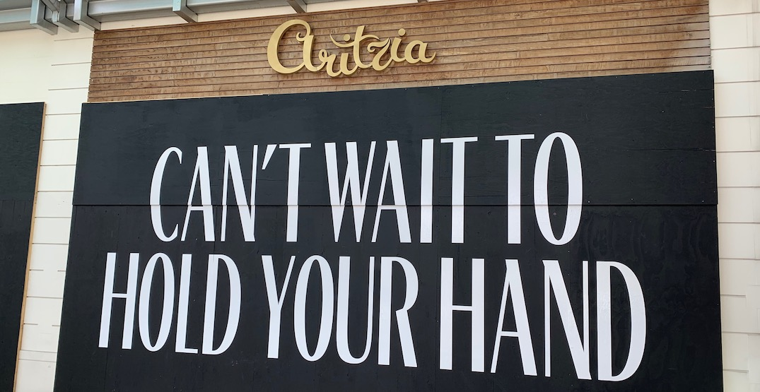 Aritzia to reopen select locations in Vancouver May 2020