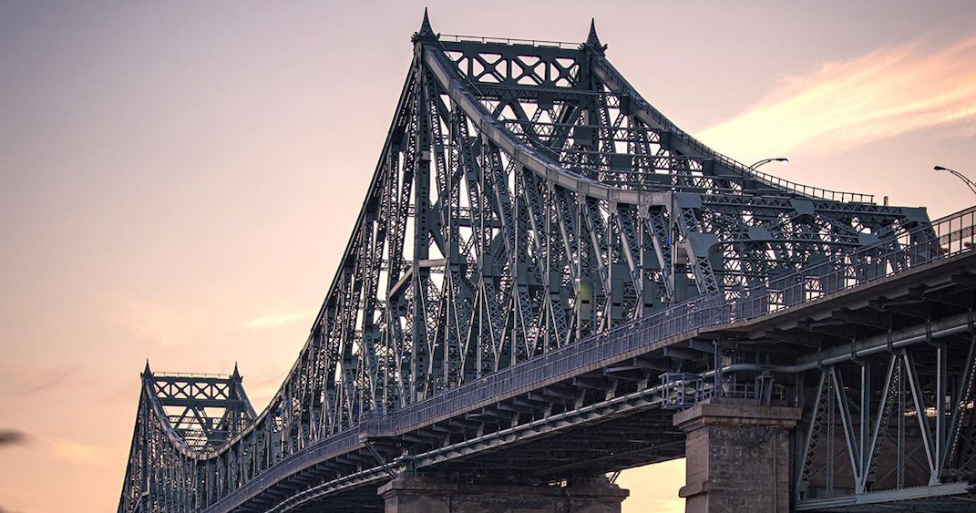 "Jacques Cartier Bridge schedules ""major work"" for two weekends this month"