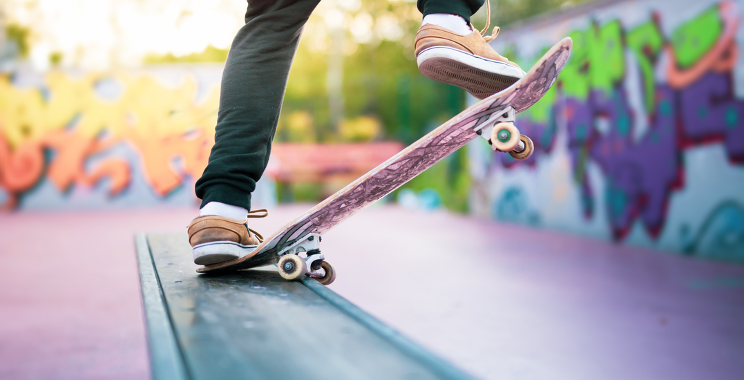 City officers patrolling Calgary's newly opened skateparks
