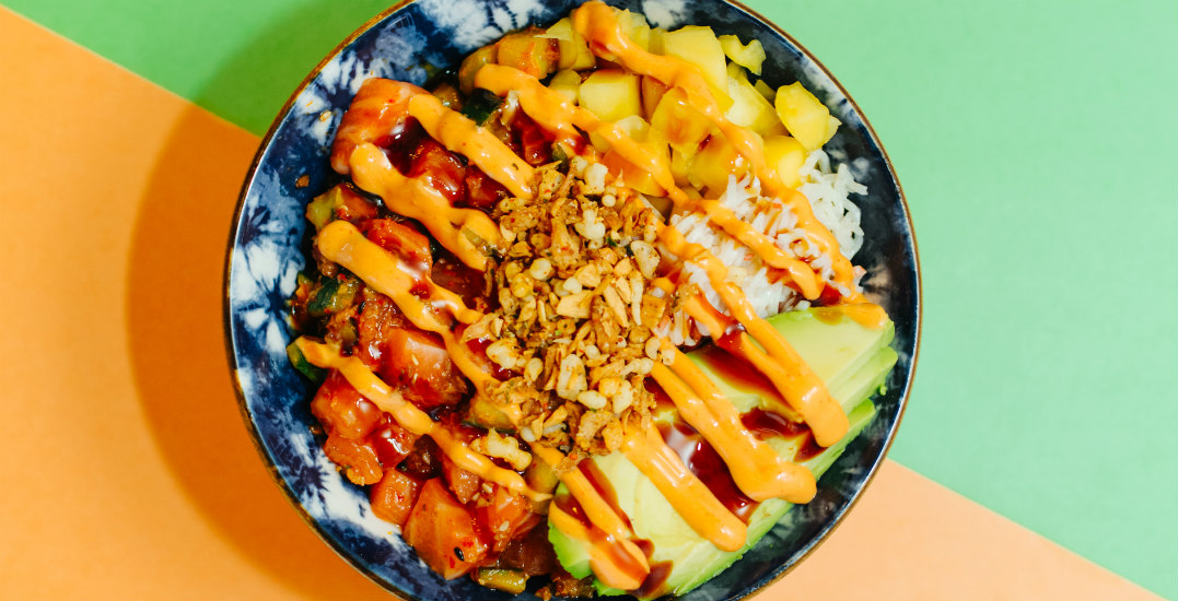 Local poke restaurant reopening with discounted bowls and take-home kits