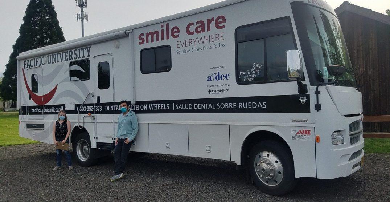 Oregon dentists put coronavirus screening on wheels