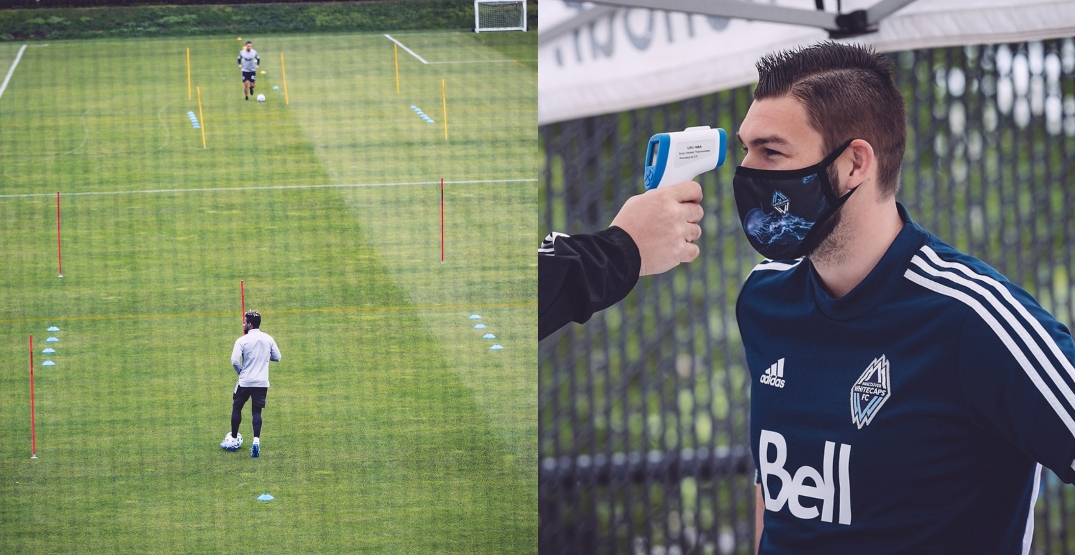 Here's how the Vancouver Whitecaps' socially-distant practice looked (PHOTOS)