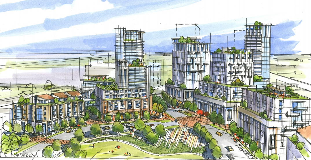 Taller heights proposed for old TransLink bus depot redevelopment in Vancouver