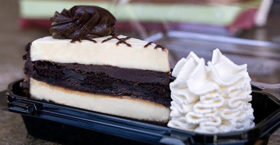 You can now get The Cheesecake Factory Bakery delivered in Metro Vancouver