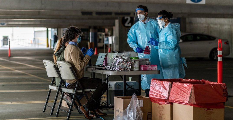 Mariners' stadium turned into drive-thru coronavirus testing site