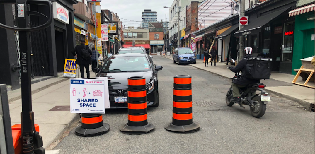 """Toronto installing 57 km of """"quiet streets"""" to help physical distancing"""