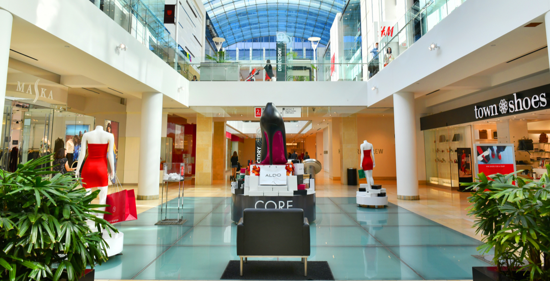Here's what is open at The CORE Shopping Centre as of today