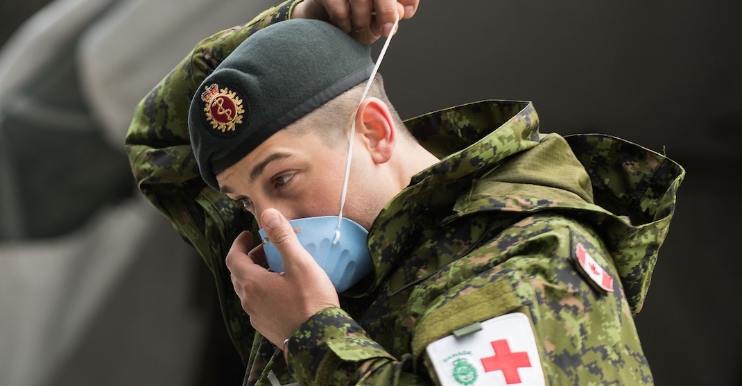 5 military members assisting at long-term care homes test positive for coronavirus