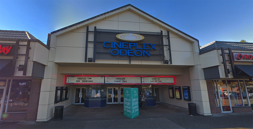 North Vancouver's Cineplex Odeon Park & Tilford has permanently closed