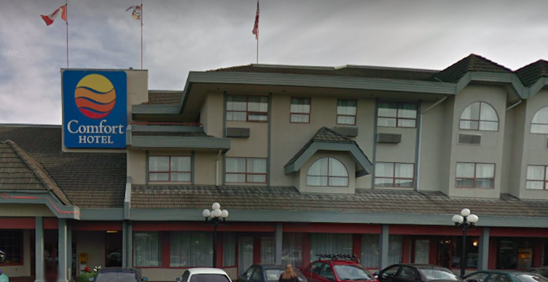 BC government buys Comfort Inn Hotel in Victoria for $18.5 million