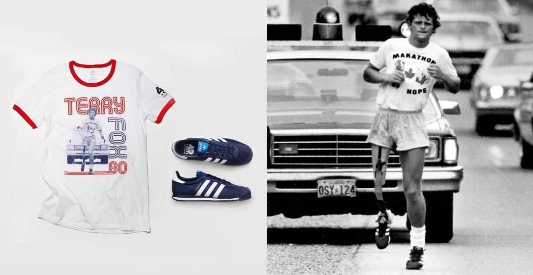 Adidas relaunch of Terry Fox shoes sell out within minutes