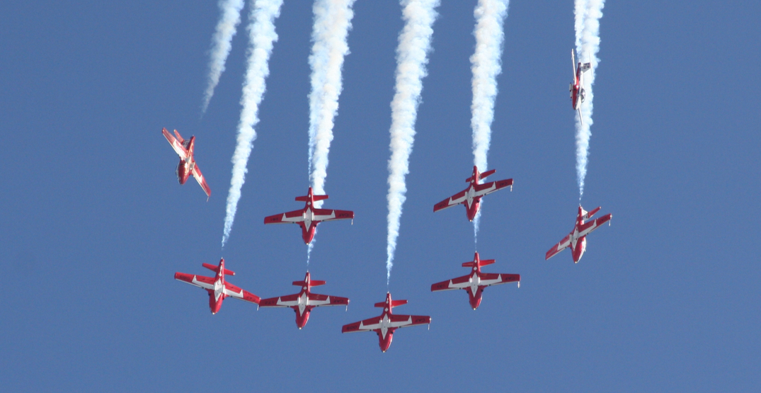 CF Snowbirds to perform over Metro Vancouver this summer