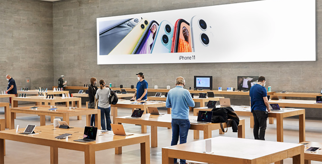 Apple stores across Western Canada reopen this week