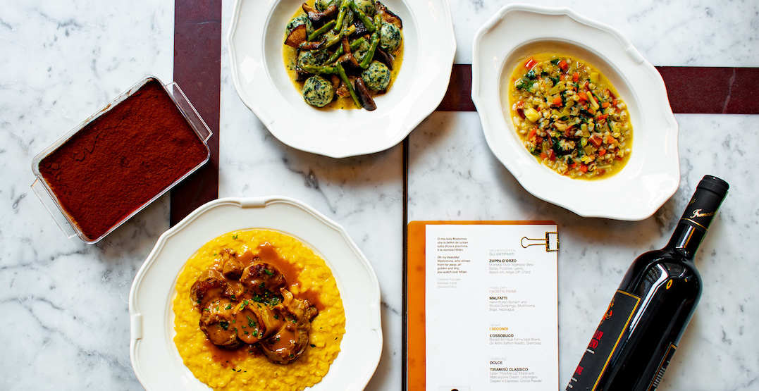 Eataly restaurant offering rotating menu specials for pick-up in Toronto