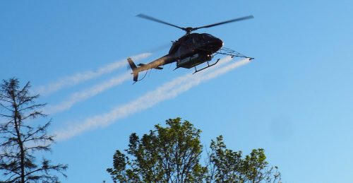 There will be aerial spraying in parts of Toronto again this week | News