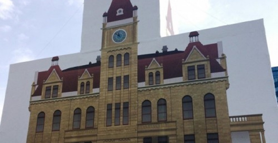 Historic City Hall to be unwrapped after three years of restoration