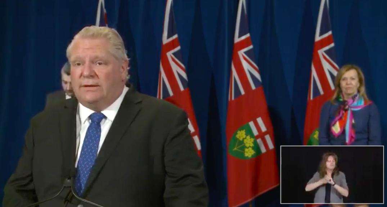 Frustrated Ford wants random and asymptomatic coronavirus testing in Ontario