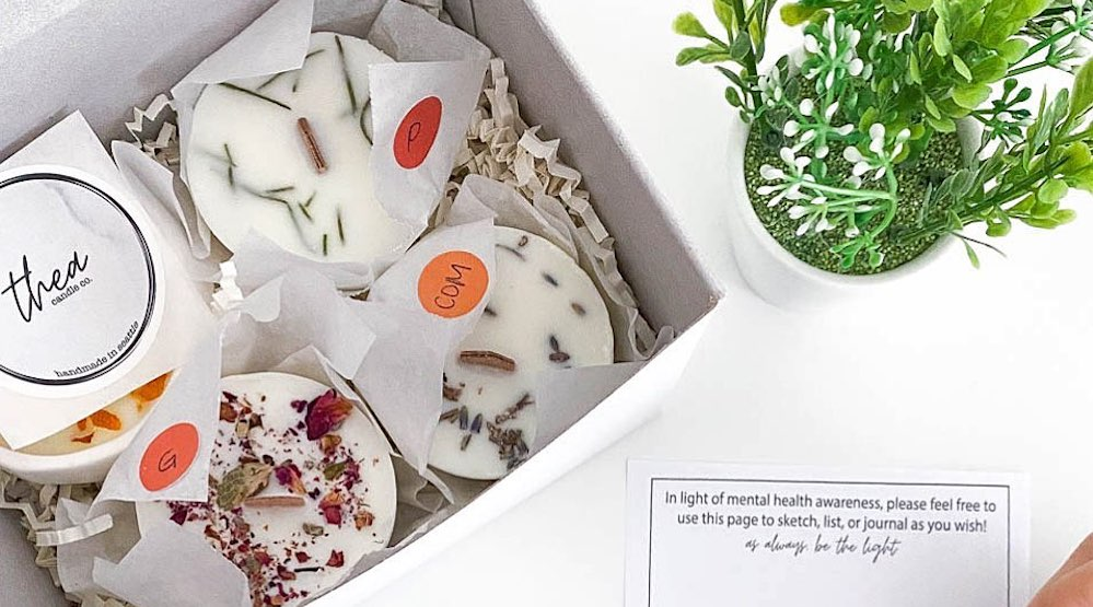 Small business spotlight: Light up your life with Thea Candle Co.