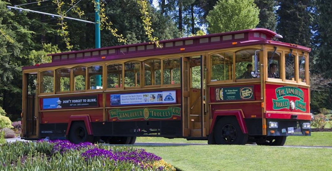 vancouver trolley company stanley park
