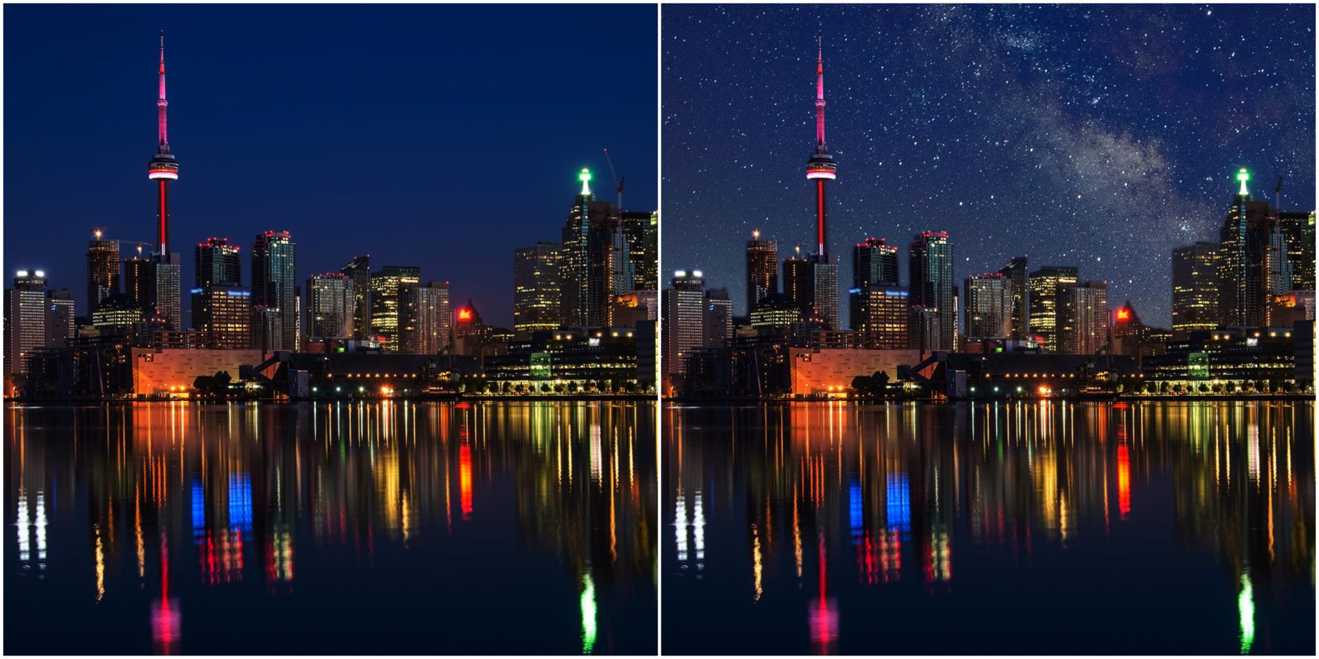 Here's what famous cities would look like without light pollution (PHOTOS)