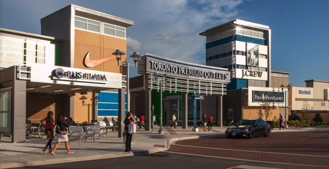 Toronto Premium Outlets shopping centre officially reopens today