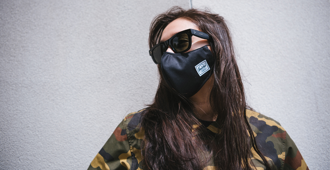Herschel Supply Co. donating profits from new face masks to frontline workers