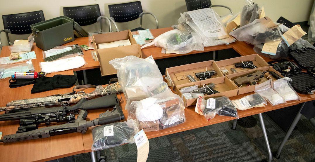 15 guns seized, 17 people arrested in Toronto-area drug trafficking investigation: police