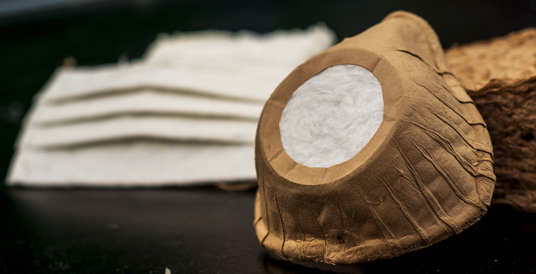 UBC researchers create biodegradable and compostable N95 masks