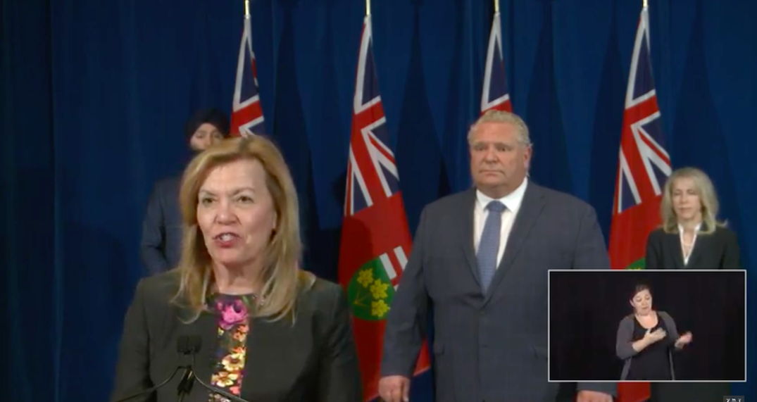 """Ontario """"reluctant"""" to move forward on lifting ban allowing more than five people to gather"""