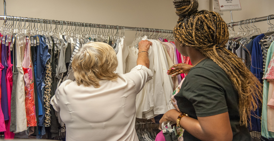 """Local organization continues to help women """"Dress for Success"""" during pandemic"""