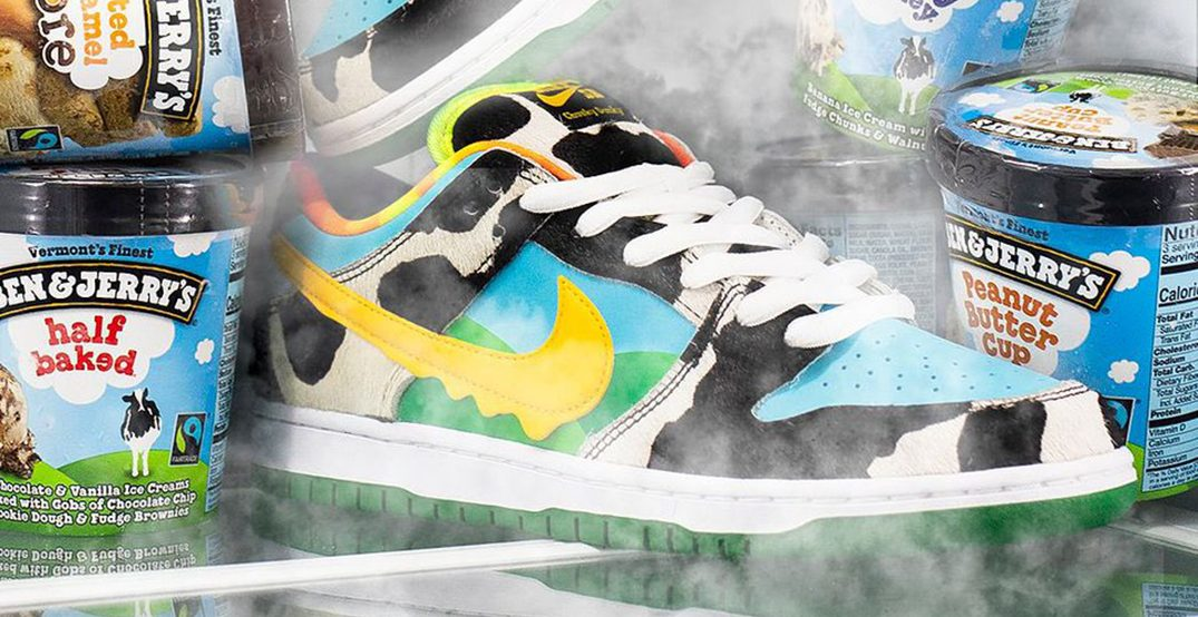 Nike Ben and Jerry's sneaker reselling for over 2000% mark-up