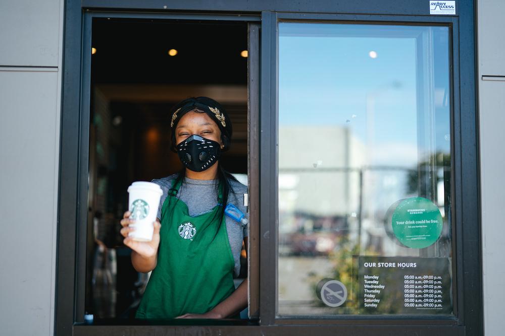 Starbucks post-covid
