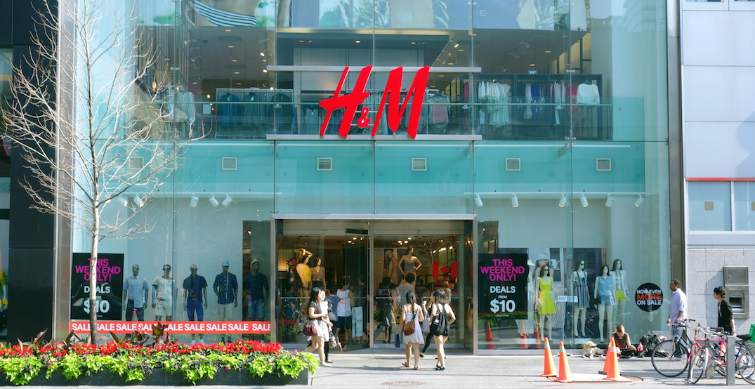 These are the H&M locations that have reopened in the GTA