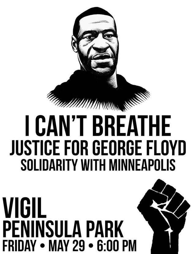 George Floyd Vigil Portland