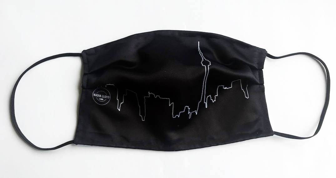 You can now get a face mask with the Toronto skyline