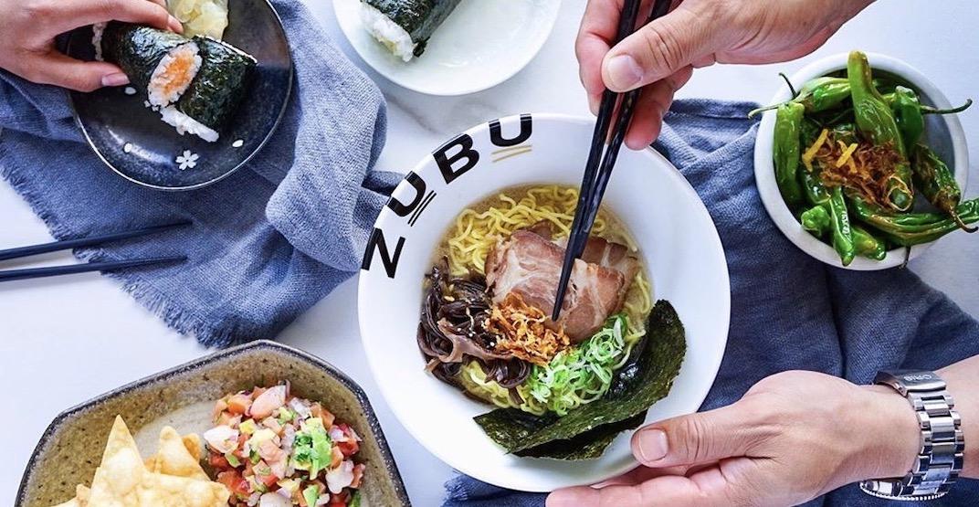 Zubu Ramen Bar offering half priced grub at three new locations