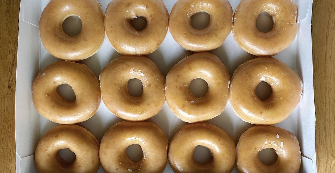 Krispy Kreme Canada offering FREE doughnuts from June 1 to 5