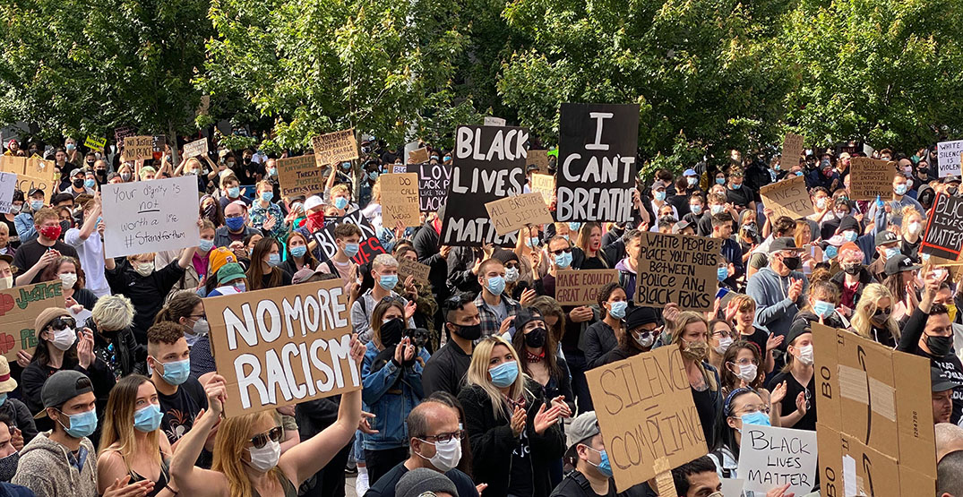 Vancouver has seen zero coronavirus cases linked to anti-racism protests: Henry