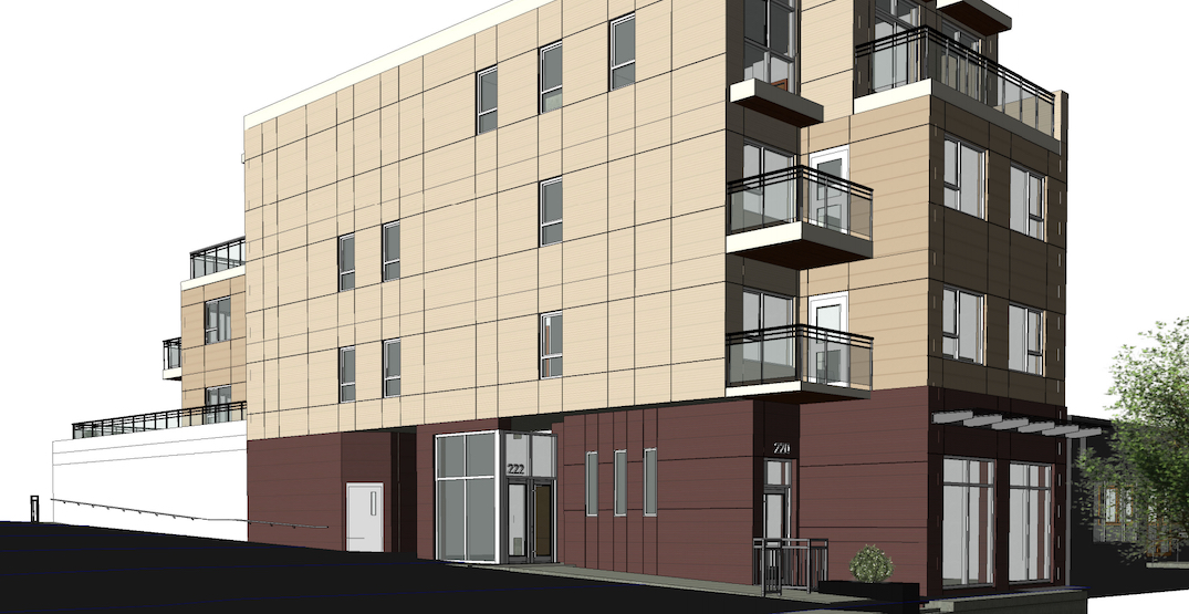 Mixed-use redevelopment proposed for a single lot in South Main