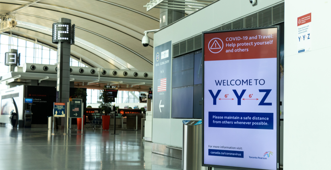 New enhanced measures for passengers implemented at Pearson Airport
