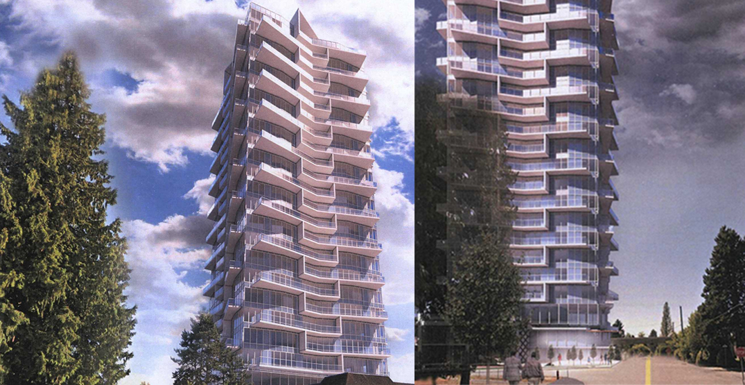 27-storey tower with condos and rentals proposed near Burquitlam Station