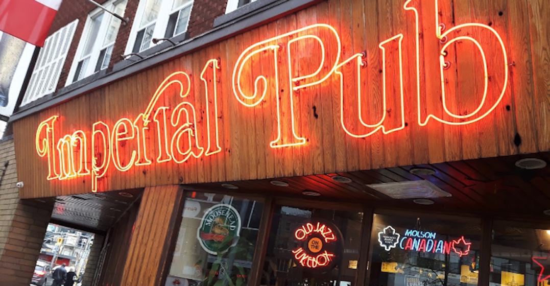 You can virtually visit this iconic downtown Toronto pub