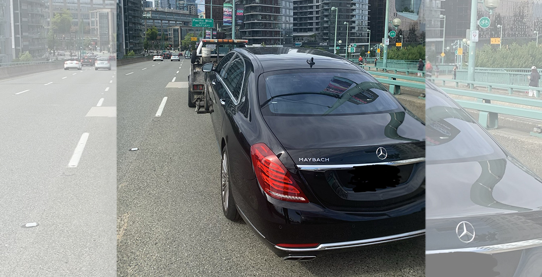 """""""L"""" driver caught going double the speed limit on Cambie Bridge"""